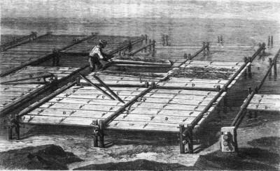 Plancher collecteur de Ferdinand de Bon