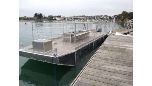 barge plongée