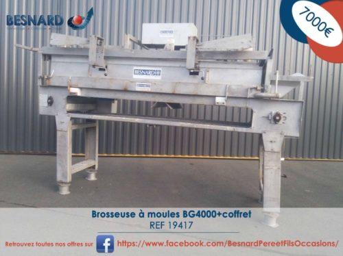 1-Brosseuse à moules BG4000+coffret -19417