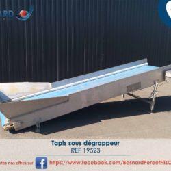 1-Tapis sous degrappeur -19523